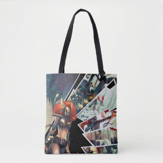 Angela Comic Montage Tote Bag