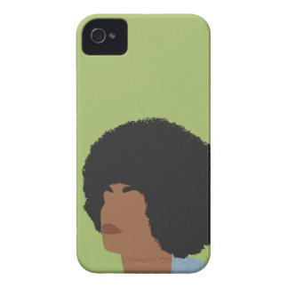 Angela Davis Feminist iPhone 4 Case-Mate Case