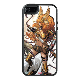 Angela Drawing Sword OtterBox iPhone 5/5s/SE Case