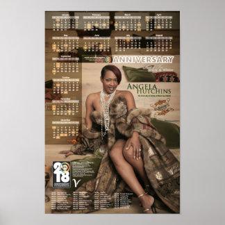 Angela Hutchins 2018 Poster Calendar