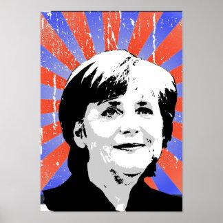 Angela Merkel Poster