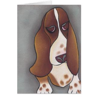 Angela's Bassett  by Robyn Feeley Card