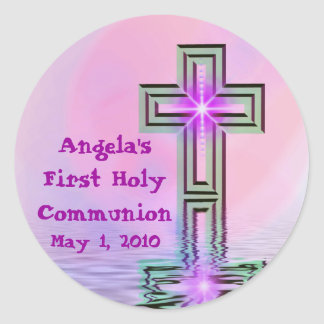 Angela's First Holy Communion Stickers