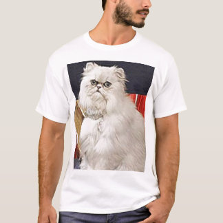 AngelCat Men's Basic T-Shirt Comfortable, casual