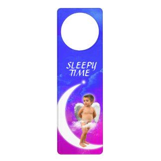 ANGELDREAMS SLEEPY-TIME DOOR-HANGER DOOR KNOB HANGER