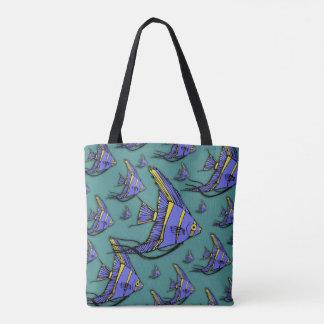 Angelfish #2 tote bag