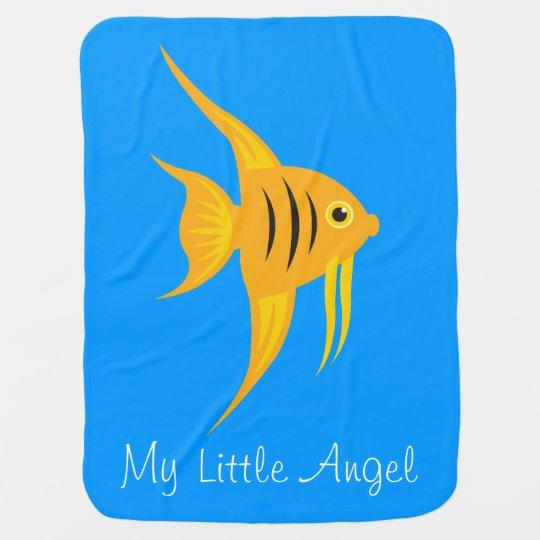 AngelFish_My Little Angel_Sweet & Adorable Swaddle Blankets