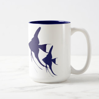 Angelfish Two-Tone Coffee Mug