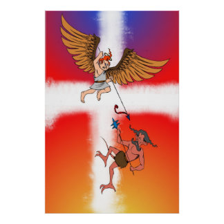 angelic battle poster