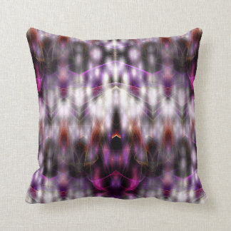 Angelic Energies (purple) Throw Pillow