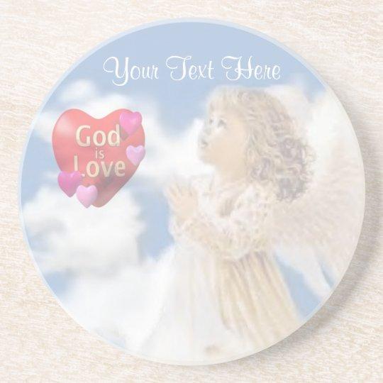 Angelic God Is Love Coaster