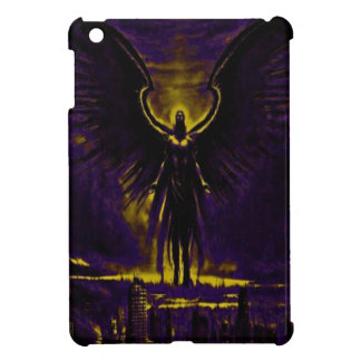 Angelic Guardian Yellow and Purple Case For The iPad Mini