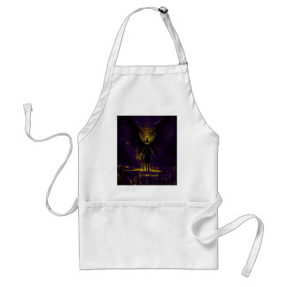 Angelic Guardian Yellow and Purple Standard Apron