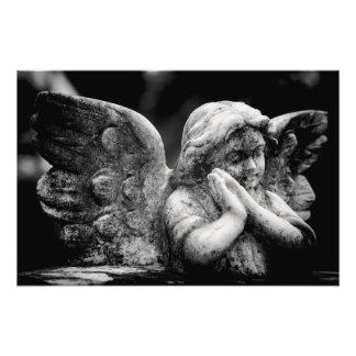 Angelic Memorial Photo Print
