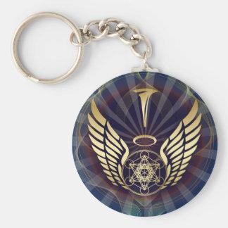 Angelic- Merkaba-Metatron cube Keychain
