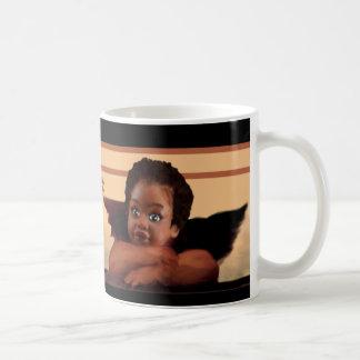 Angelic Nubian Cherubs Coffee Mug