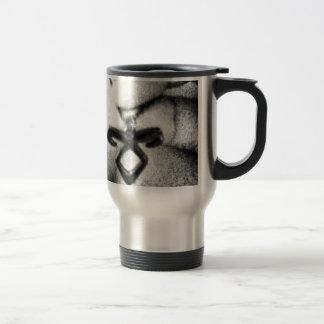 Angelic Power Rune Stainless Steel Travel Mug