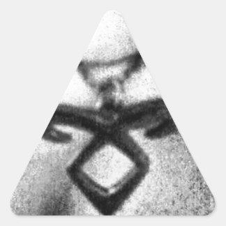 Angelic Power Rune Triangle Sticker