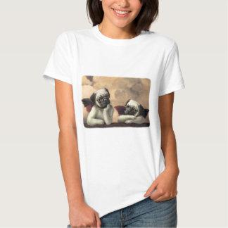 Angelic Pug Cherub Gift Items T Shirt