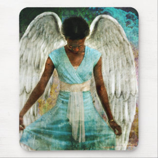Angelic Thanks Mouse Pad