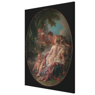 Angelica and Medoro Canvas Print