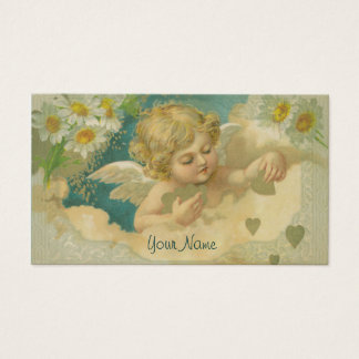 Angelica Elegant Cherub Business Card