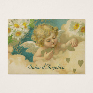 Angelica Hearts & Daisies Elegant Chubby Cards