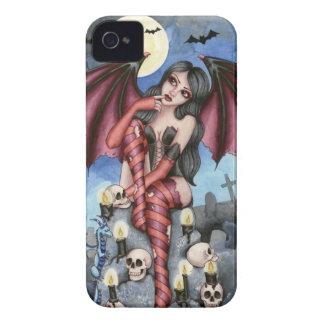 Angelique - Vampire Fairy iPhone 4 Case