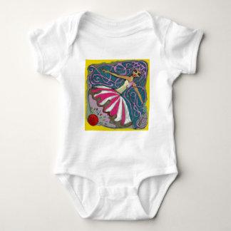 Angelique's Tea Party in June Baby Bodysuit