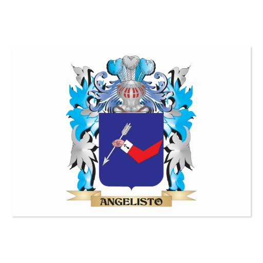 Angelisto Coat Of Arms Business Card