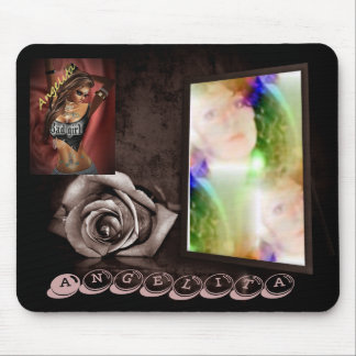 angelita  photo and  graphic  images mouse pad