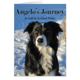 Angelo's Journey Note Card