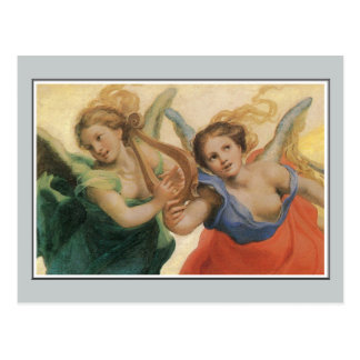 Angels, Allegory of the Virtues, Correggio Postcard
