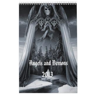 """Angels and Demons"" wall calendar 2013"