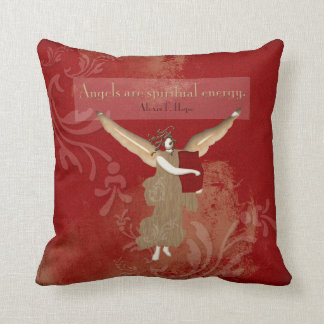 Angels Are Spiritual Energy | Throw Pillow