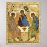 Angels At Mamre Trinity Poster