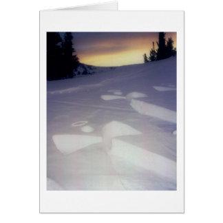 Angels at Sunset Card