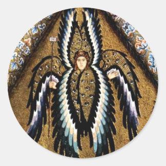 Angels By Meister Von Cefalã¹ (Best Quality) Classic Round Sticker
