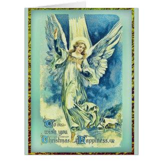 Angels Came Down at Christmas Big Greeting Card