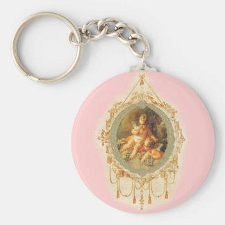 Angels Cherubs Vintage Style Keychain