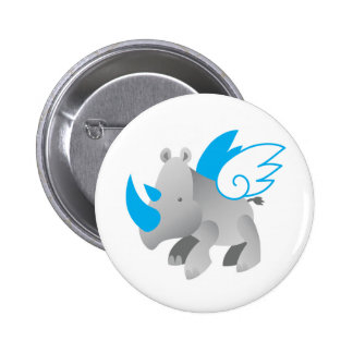Angels come in all sizes RHINO 2 Inch Round Button