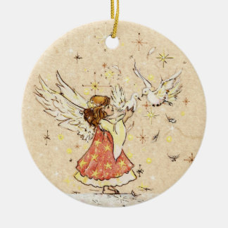 Angels & Doves Ornament