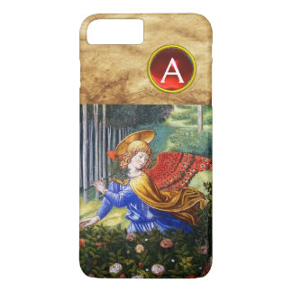 Angels Gathering Flowers in a Heavenly Landscape iPhone 8 Plus/7 Plus Case