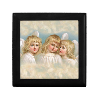 Angels in a Pastel Sky Keepsake Box