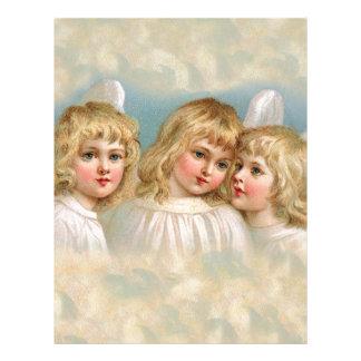 Angels in a Pastel Sky Letterhead