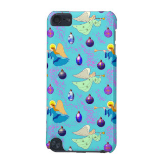 Angels in Blue – Ornaments Trumpets iPod Touch (5th Generation) Cases