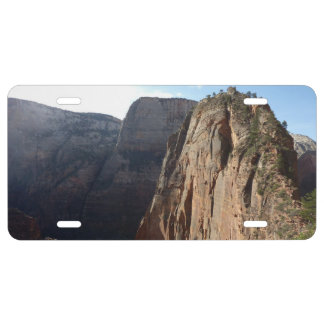Angels Landing at Zion National Park License Plate