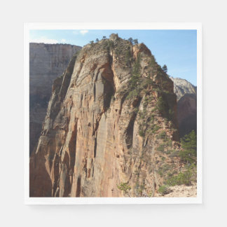 Angels Landing at Zion National Park Paper Napkin