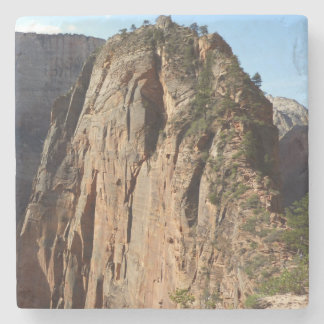 Angels Landing at Zion National Park Stone Coaster