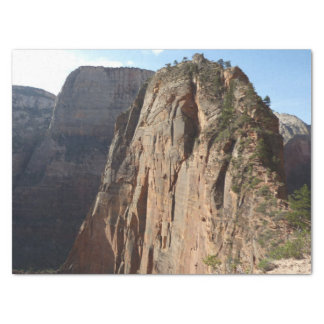 Angels Landing at Zion National Park Tissue Paper